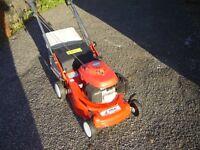 Honda Izy push mower 42cm cut with new efco deck