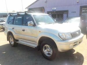 2001 Toyota Landcruiser Prado VZJ95R 50th Anniversary GXL Silver 4 Speed Automatic Wagon North St Marys Penrith Area Preview