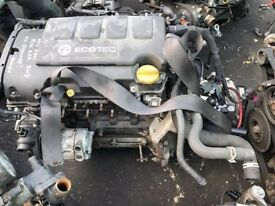 Vauxhall Corsa D 1.2 16v A12XER Complete Engine / Gearbox 6000 Miles