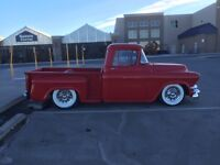 1956 GMC shortbox stepside complete box and front clip