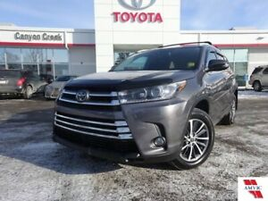 2018 Toyota Highlander XLE 8 PASS AWD/ TOYOTA CERTIFIED/LEATHER/