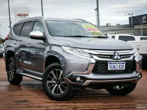 2017 Mitsubishi Pajero Sport QE MY17 Exceed Grey 8 Speed Sports Automatic Wagon Wangara Wanneroo Area Preview