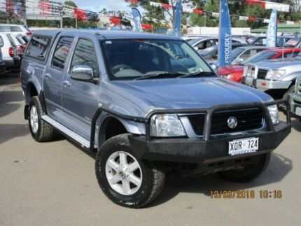 2004 Holden Rodeo RA LT Crew Cab Silver 5 Speed Manual Utility Gepps Cross Port Adelaide Area Preview