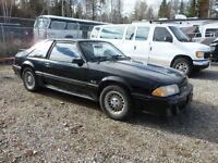 1989 Ford Mustang Cobra GT HO 5.0L
