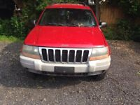 2000 Jeep Cherokee 4x4 parting out! Kitchener / Waterloo Kitchener Area Preview