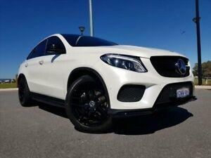 2018 Mercedes-Benz GLE-Class C292 MY808+058 GLE350 d Coupe 9G-Tronic 4MATIC Designo Diamond White Kenwick Gosnells Area Preview