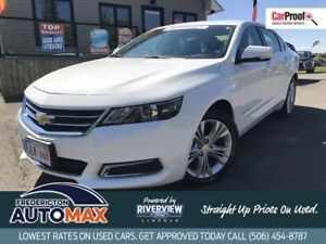 2015 Chevrolet Impala LT V6! ALLoys! Leather! Back Up Camera!