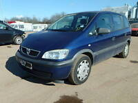Vauxhall Zafira 1.6 16V Manual Gearbox: Z16XE Breaking For Parts(2003)