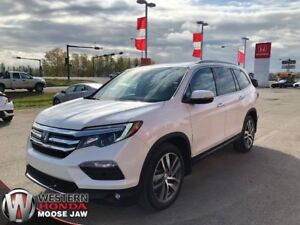 2017 Honda Pilot Touring- 6 Year 160,000KM Warranty