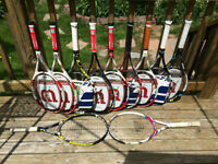 Top End Tennis Racquets For A Fraction Of The Cost!
