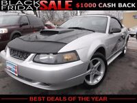 2000 Ford Mustang Convertible, NO PAYMENTS UNTIL 2016