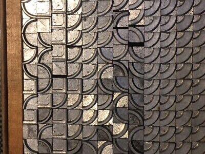 Letterpress Type Border Corners Printing Handy Box Kelsey Linotype Sorts