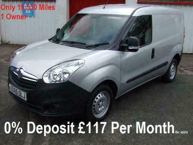 f5425d7bfe 2015 Vauxhall Combo 1.6CDTi 16v 105PSL1H1 s s Combo 2000 Silver Low Mileage  Van