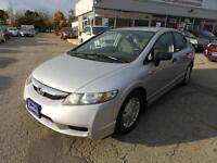 2009 HONDA CIVIC,LOADED CERTIFY 3 YEARS P-T WARRANTY AVAILABLE