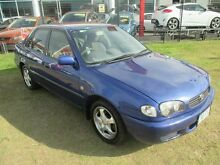 2000 Toyota Corolla AE112R Conquest Blue 5 Speed Manual Sedan Kippa-ring Redcliffe Area Preview