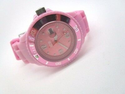 Ice Watch Ladies Pink  Resin Strap Watch SI.PK.S.S.09 (179Y)