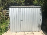 Garden Shed Metal/Zinc by Absco