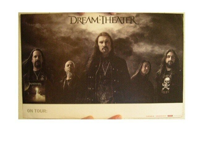 Dream Theater Poster Black Clouds and Silver Linings