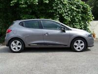 RENAULT CLIO 0.9 DYNAMIQUE MEDIANAV ENERGY TCE S/S 5d (grey) 2014