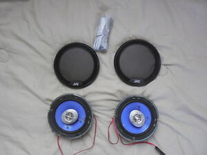 "JVC 6-1/2"" (GM 6 3/4"" compatible), 2-way speakers"