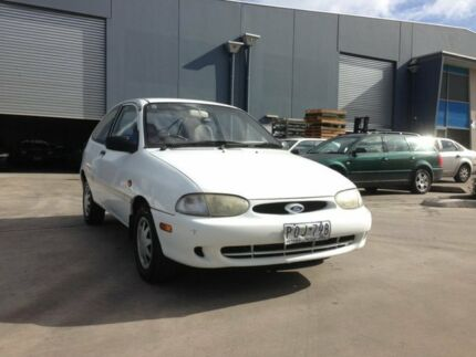 1999 Ford Festiva WF Trio White 3 Speed Automatic Hatchback Spotswood Hobsons Bay Area Preview