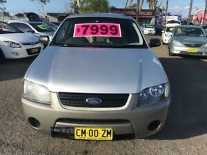 2008 Ford Territory SY MY07 Upgrade TX (RWD) Grey 4 Speed Auto Seq Sportshift Wagon Lansvale Liverpool Area Preview