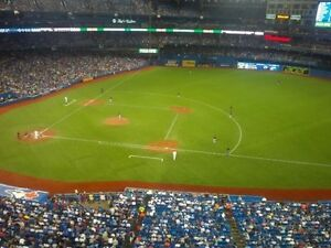 6 tickets  BLUE JAYS   in 518 row 1 HOME OPENER