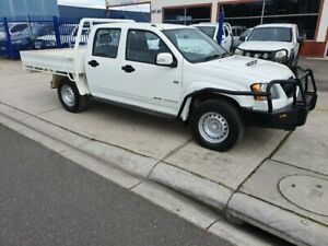 2011 Holden Colorado RC MY11 LX (4x4) White 5 Speed Manual Crew Cab Pickup Dandenong Greater Dandenong Preview