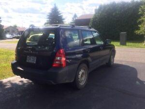 2005 Subaru Forester Familiale