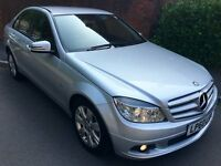 1 YEAR WARRANTY Mercedes Benz C180 Executive SE BlueEfficiency CGi 4dr - New Service - Only 2 Owners