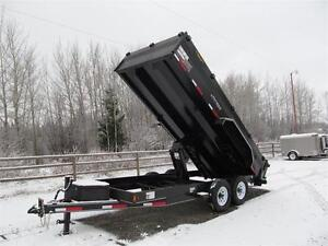 BLOW OUT !!  16' EXCURSION DUMP TRAILER Prince George British Columbia image 4