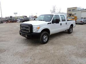 2012 FORD F250 CREW CAB 4X4 ONLY 89000KM