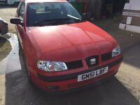 Cheap Car of the Day 2001 seat ibeza very good little runner mot
