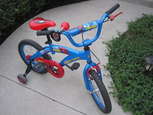 16inch Spiderman Bike in excellent+ condition