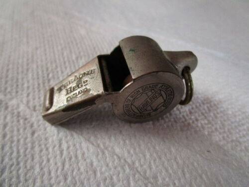 Vintage Sports Referees Whistle by ACME for Rawlings / Made in England