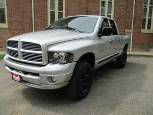2004 Dodge Ram 1500 SLT 4 X 4  LIFTED! CUSTOM EXHAUST! $7,994