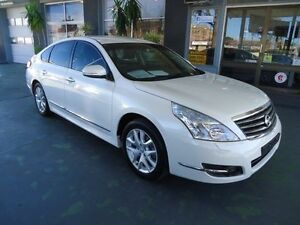 2013 Nissan Maxima J32 MY11 350 ST-S White 6 Speed Continuous Variable Sedan Hamilton Newcastle Area Preview