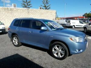 2009 Toyota Kluger GSU40R Grande (FWD) Blue 5 Speed Automatic Wagon South Fremantle Fremantle Area Preview