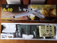 RADIO CONTROLLED RC 4 CHANNEL DESSERT CAMO A-10 THUNDERBOLT II ELECTRIC DUCTED FAN FIGHTER JET RTF