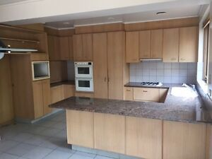 Luxury 80's kitchen, cabinet, desk for sale $2500 the lot Brighton Bayside Area Preview