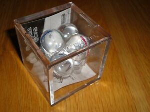 Brand new octahedron top with acrylic storage case