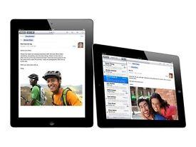 iPad 2 WiFi, 64GB, Black, Original Apple cover