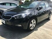2016 Kia Cerato YD MY16 S Black 6 Speed Sports Automatic Hatchback North Hobart Hobart City Preview