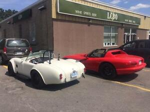 1965 AC SHELBY COBRA - TRADE FOR FAST BOAT AND CASH