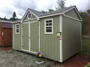 Winter Delivery Custom Design Canadian Built 10x16 Elegant Shed