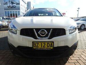 2014 Nissan Dualis J10 MY13 +2 ST (4x2) White 6 Speed CVT Auto Sequential Wagon Croydon Burwood Area Preview