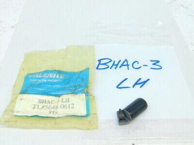 New Surplus Valenite E-z Boring Cartridge Bhac-3 Lh Tpee 731