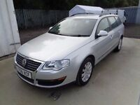 VOLKSWAGEN PASSAT 2006 ESTATE 1.9 TDI ONE OWNER 123,000 MILES FULL SERVICE HISTORY 12 MONTHS M.O.T