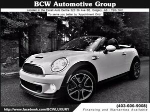 2012 MINI Cooper Roadster S Certified Must See WOW! $21,995.00