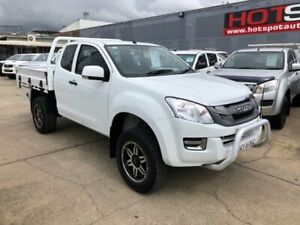 2016 Isuzu D-MAX MY15.5 SX Space Cab White 5 Speed Sports Automatic Cab Chassis Granville Parramatta Area Preview